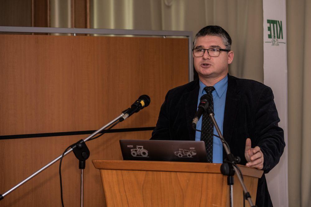 Dr. habil Milics Gábor a rendezvényen
