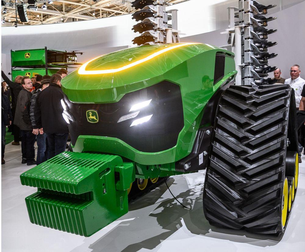 JOhn Deere robottraktor