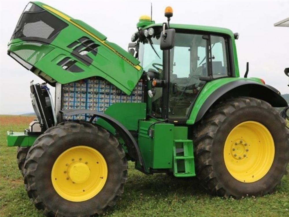John Deere sezam elektromos traktor