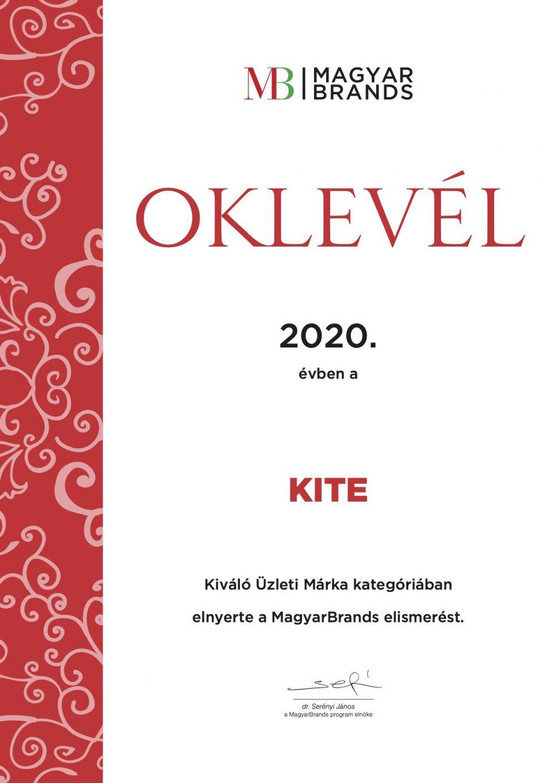 magyar brands oklevél