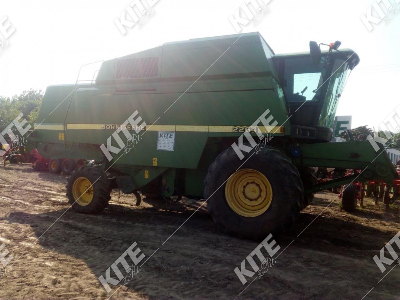 John Deere 2264 kukorica adapterrel