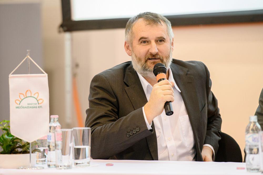Mészáros Gábor a tápanyag-utánpótlásról beszélt