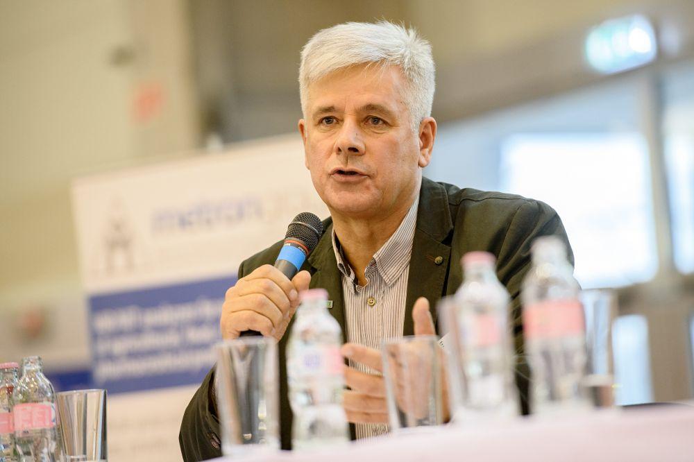 Szabó Gyula az öntözési szekcióban