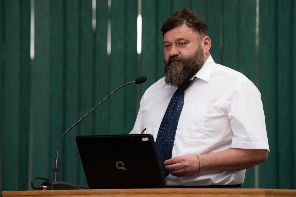 Hadászi László a konferencián