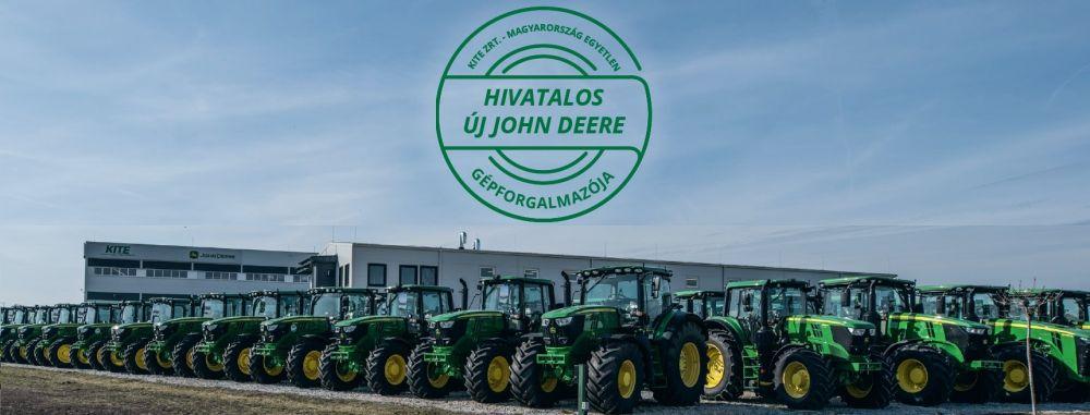 John Deere traktor HO napraforgóért