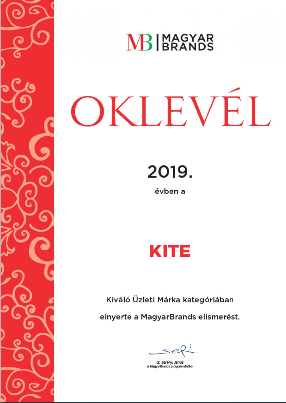Magyar Brands nyolcadik alkalommal