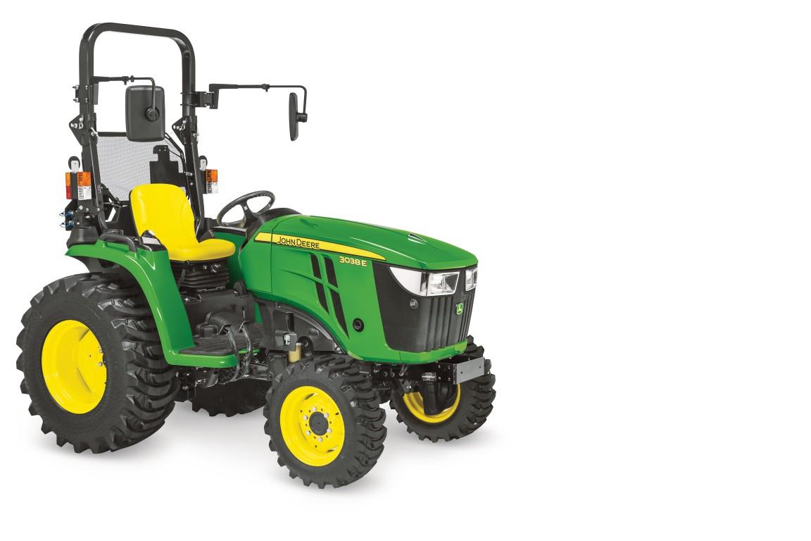 john deere 3038e traktor traktorok kite zrt. Black Bedroom Furniture Sets. Home Design Ideas